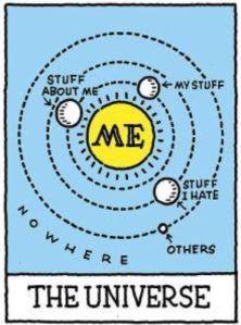 Universe according to me